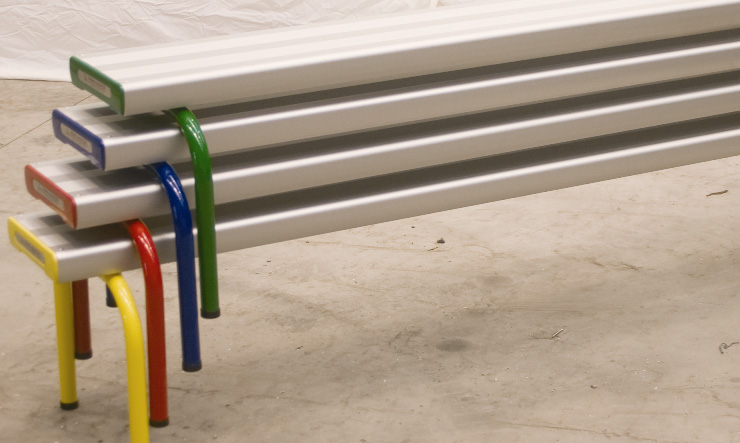 Free Standing Stackable Benches